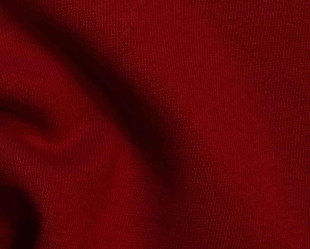 Rosso Chili tessuto bio