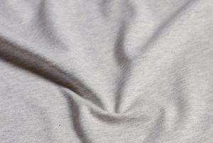 Bio Jersey – Grau meliert