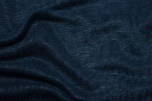 Jersey di Lino - Blu